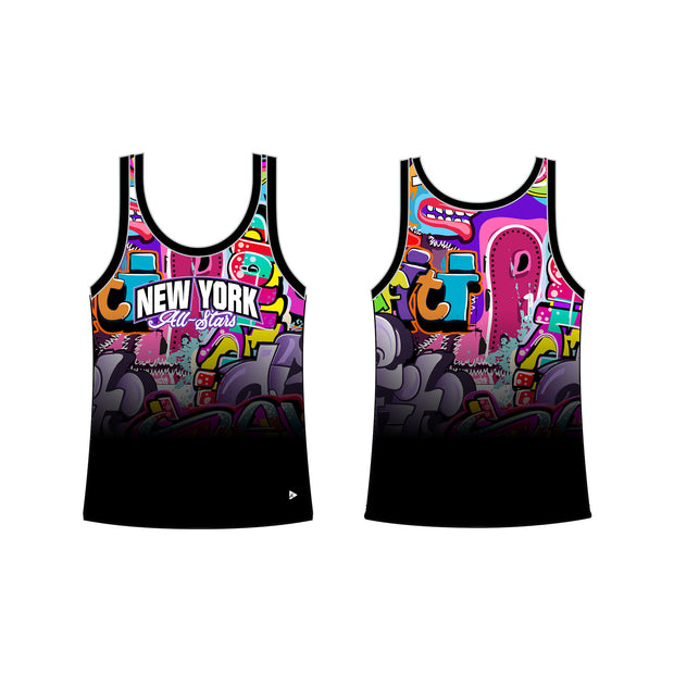 New York All-Stars Graffiti Men's Classic Tank