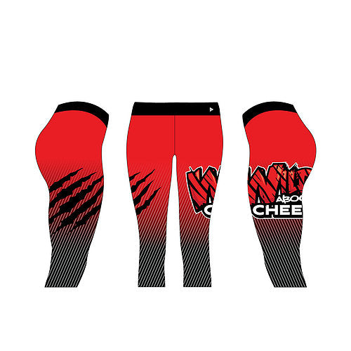 Wild About Cheer London Capris