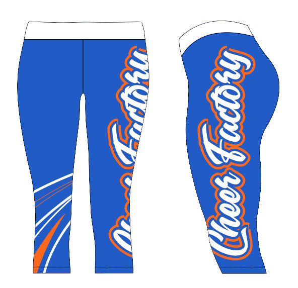 Cheer Factory London Capris
