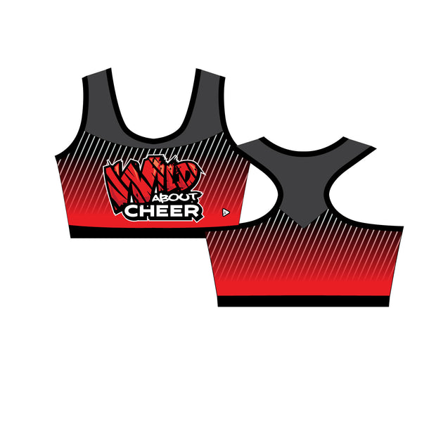 Wild About Cheer Collette Sports Bra
