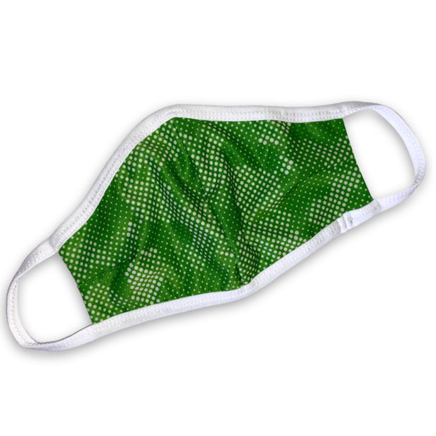 Dots Lime Face Mask