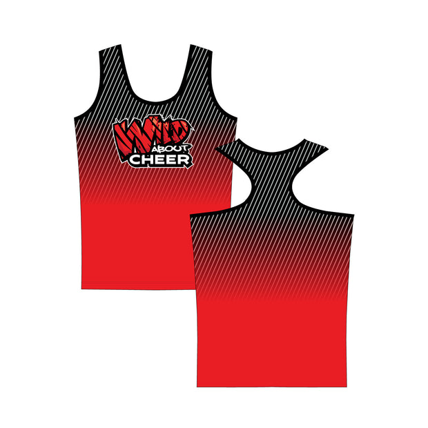 Wild About Cheer Kourtney Fitted Tank