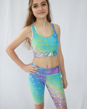 Unicorn Dreams Houston Sports Bra