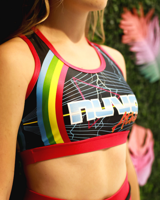 Electric Youth Simon Sports Bra