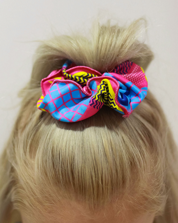 Totally Awesome Hair Scrunchie