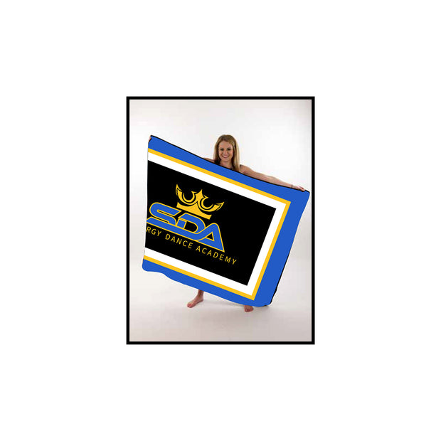 Synergy Dance Academy Large Throw Blanket