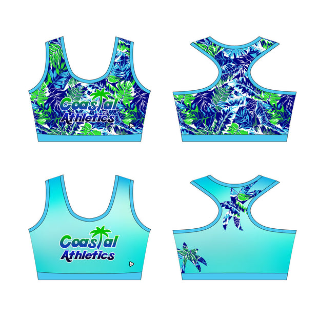 Reversible Coastal Athletics Kourtney Sports Bra