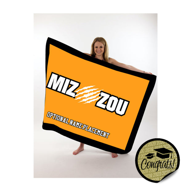 Mizzou Large Blanket