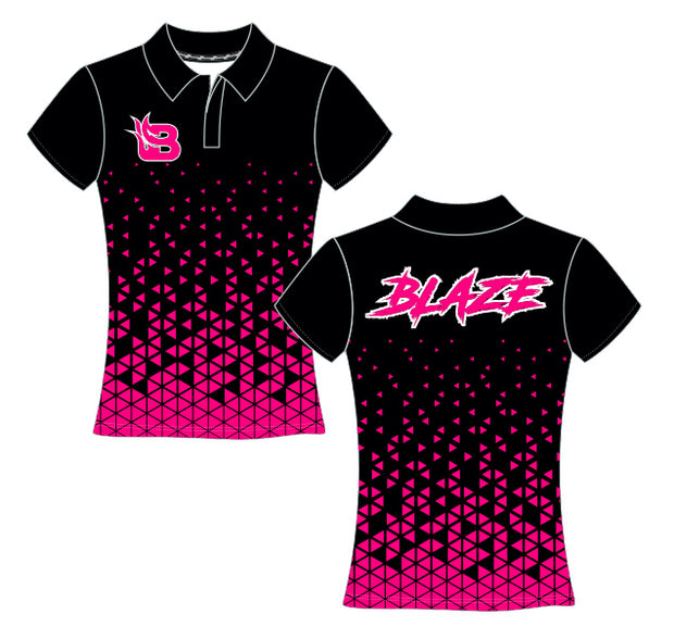 Fort Bend Blaze Women's Zip Polo