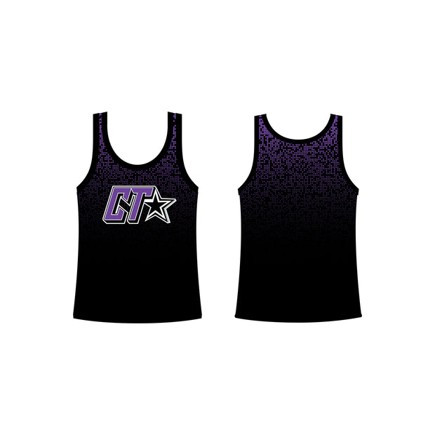 Cheer Trixx Men's Classic Tank in Purple