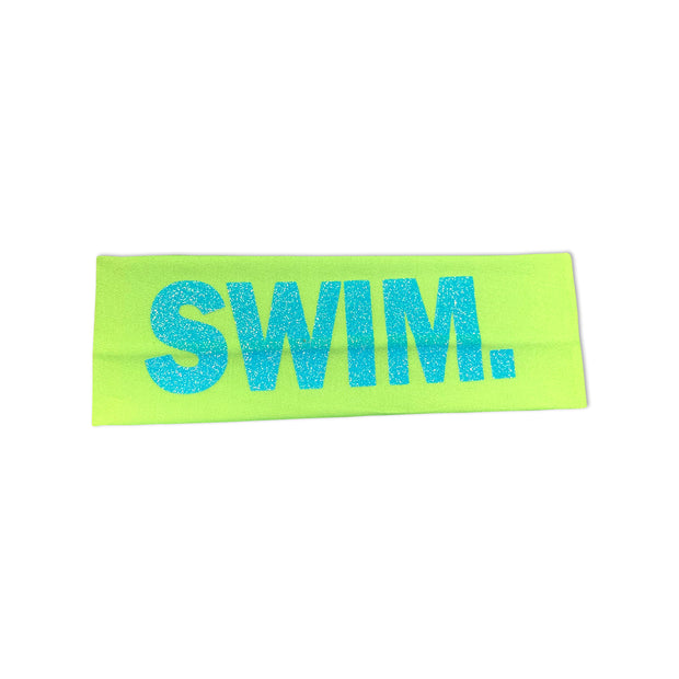Swim. Headband in Green