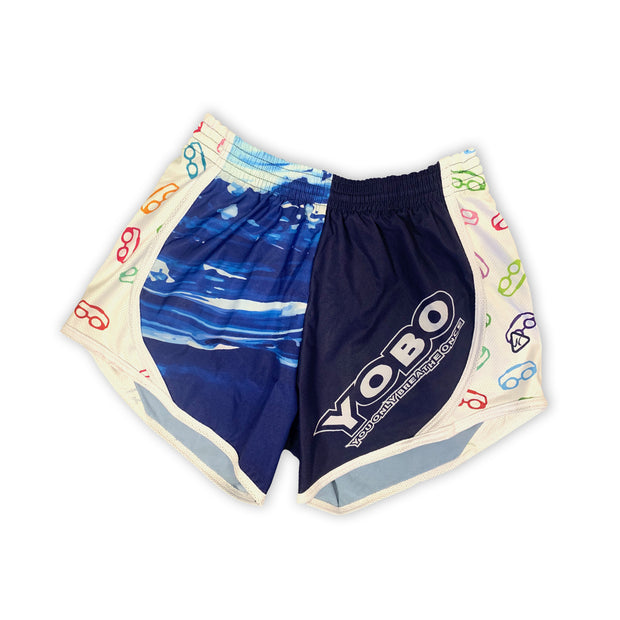 YOBO Swim Shorts in Blue