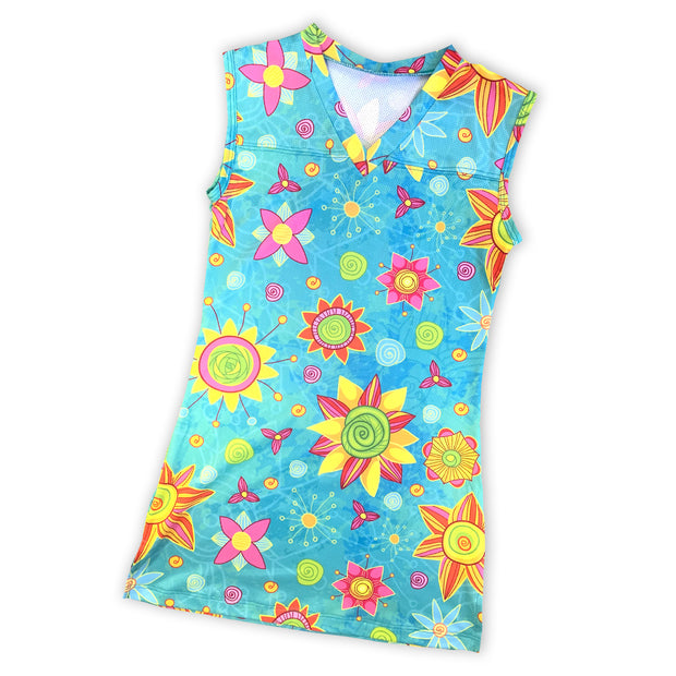Summer Fun Swim Cover Up Dress