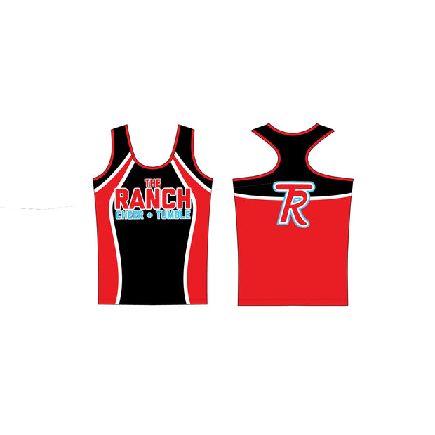 The Ranch Cheer and Dance Sonic Kourtney Fitted Tank