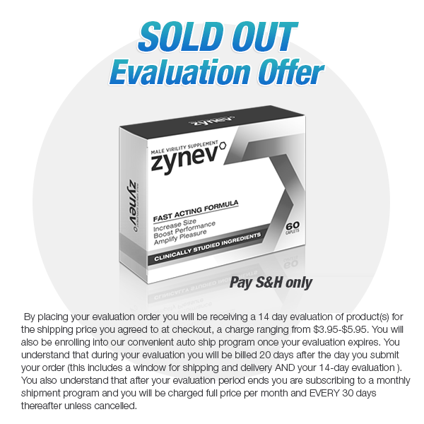Zynev Evaluation Offer (SOLD OUT)