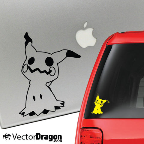 The Disguised Vinyl Decal