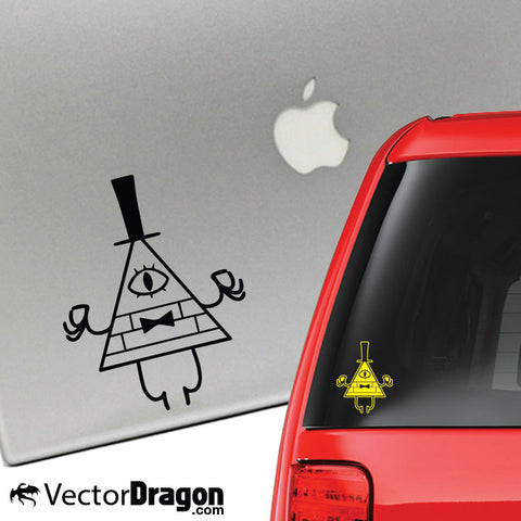 Bill Cipher Vinyl Decal