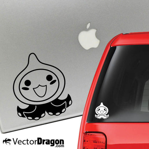 Pachimari Vinyl Decal