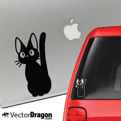 The Witch Cat Vinyl Decal
