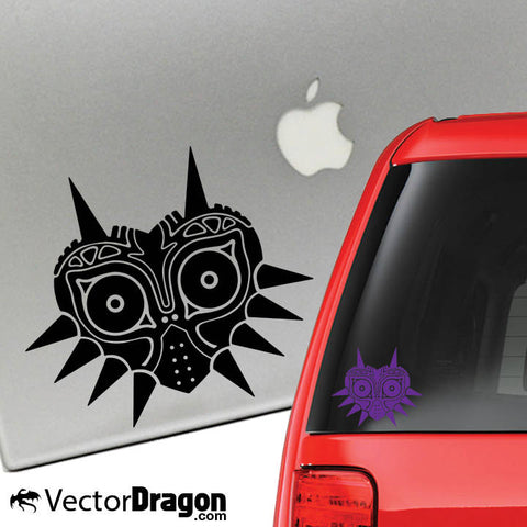 Dark Mask Vinyl Decal