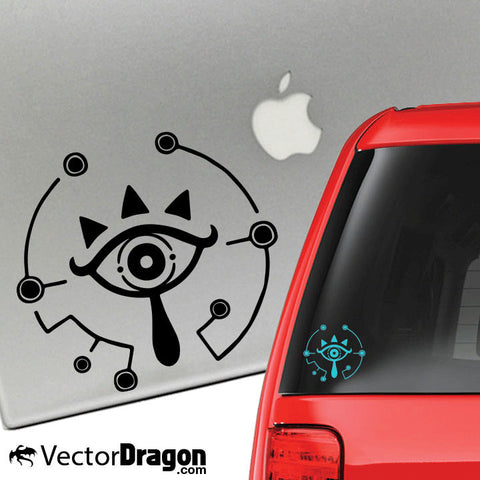 Sheikah Vinyl Decal