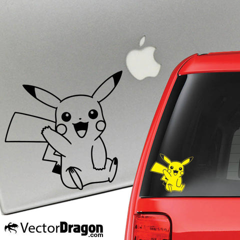Pika Vinyl Decal