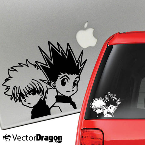 Gon and Killua Vinyl Decal