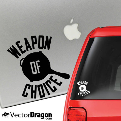 The Ultimate Weapon Vinyl Decal