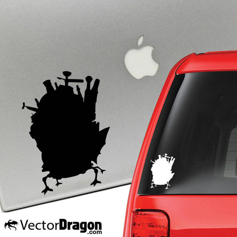 Howl's Castle Vinyl Decal