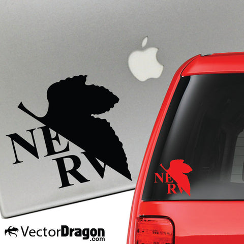 NERV Vinyl Decal