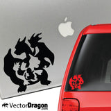 Fire Evolution Vinyl Decal