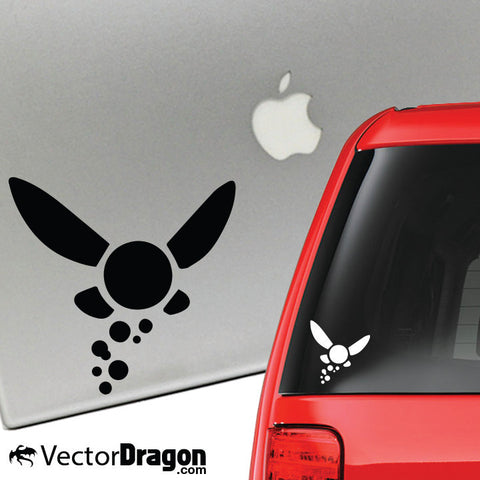 Hey Listen Vinyl Decal