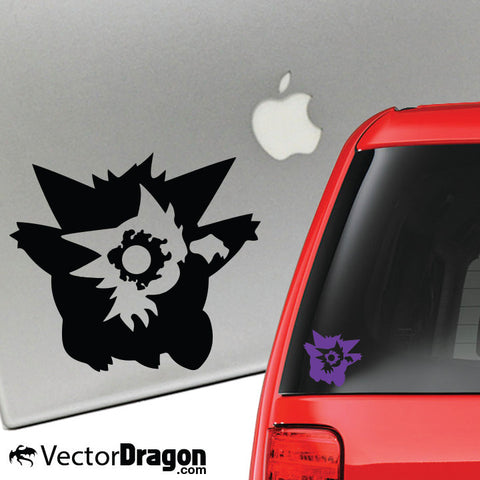 Ghastly Evolution Vinyl Decal
