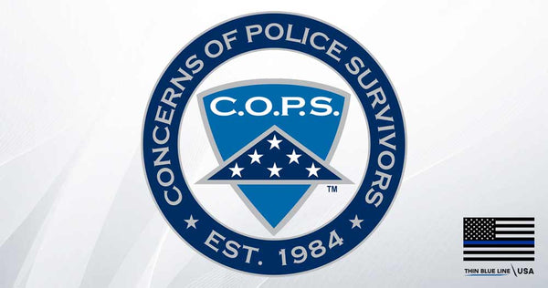 Official Partner of C.O.P.S. - $49,000+ Donated