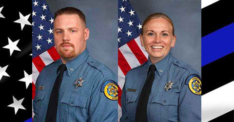 Remembering Deputy Sheriff Patrick Rohrer & Deputy Sheriff Theresa King | Give Blue | $848.94 Donated