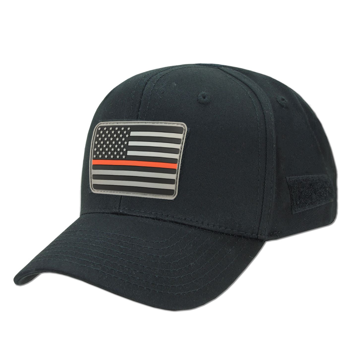 Black Operator s Hat and TRL Morale Patch - Thin Blue Line USA fd5e6a0b12
