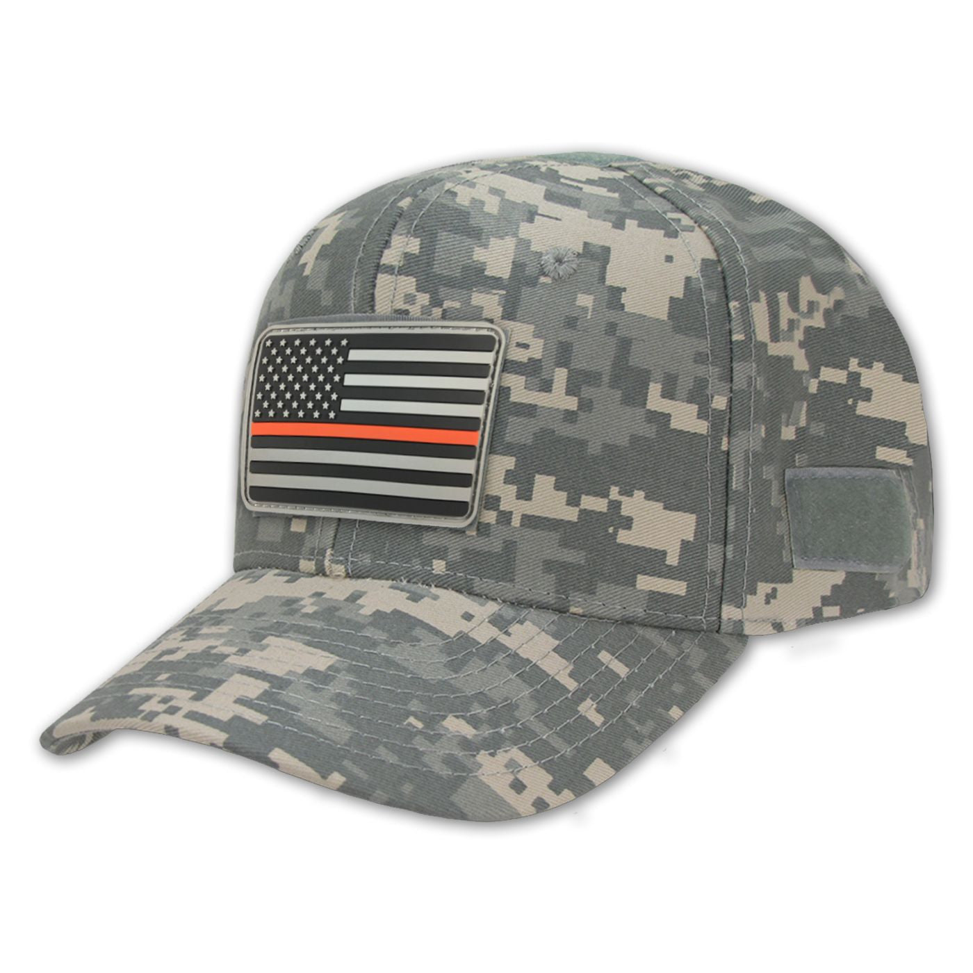 Camo Operator s Hat   Thin Red Line Morale Patch - Thin Blue Line USA 85af1314daf