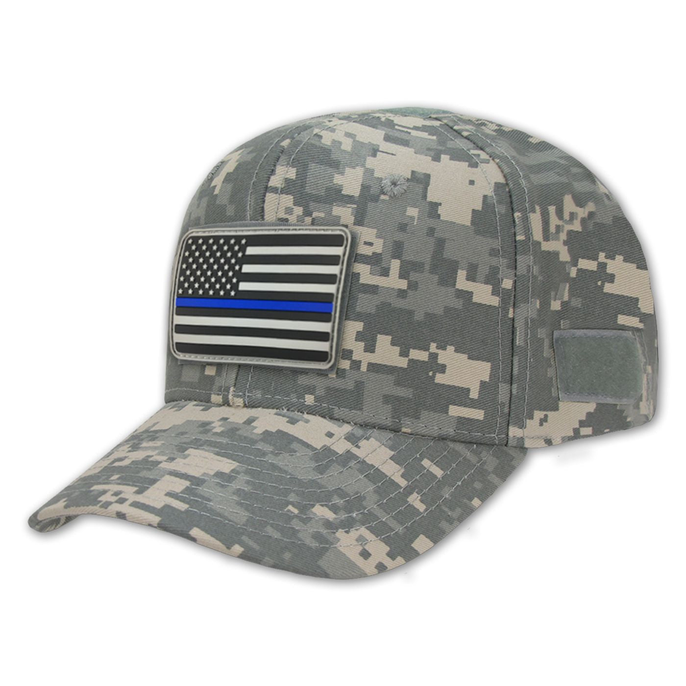 Camo Operator s Hat   Thin Blue Line Morale Patch - Thin Blue Line USA fdb23a5520f
