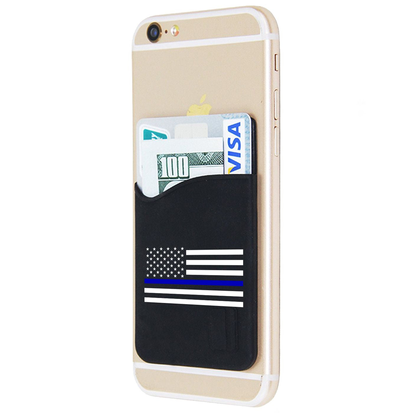 e3efbae9164d Thin Blue Line Phone Card Holder - Thin Blue Line USA