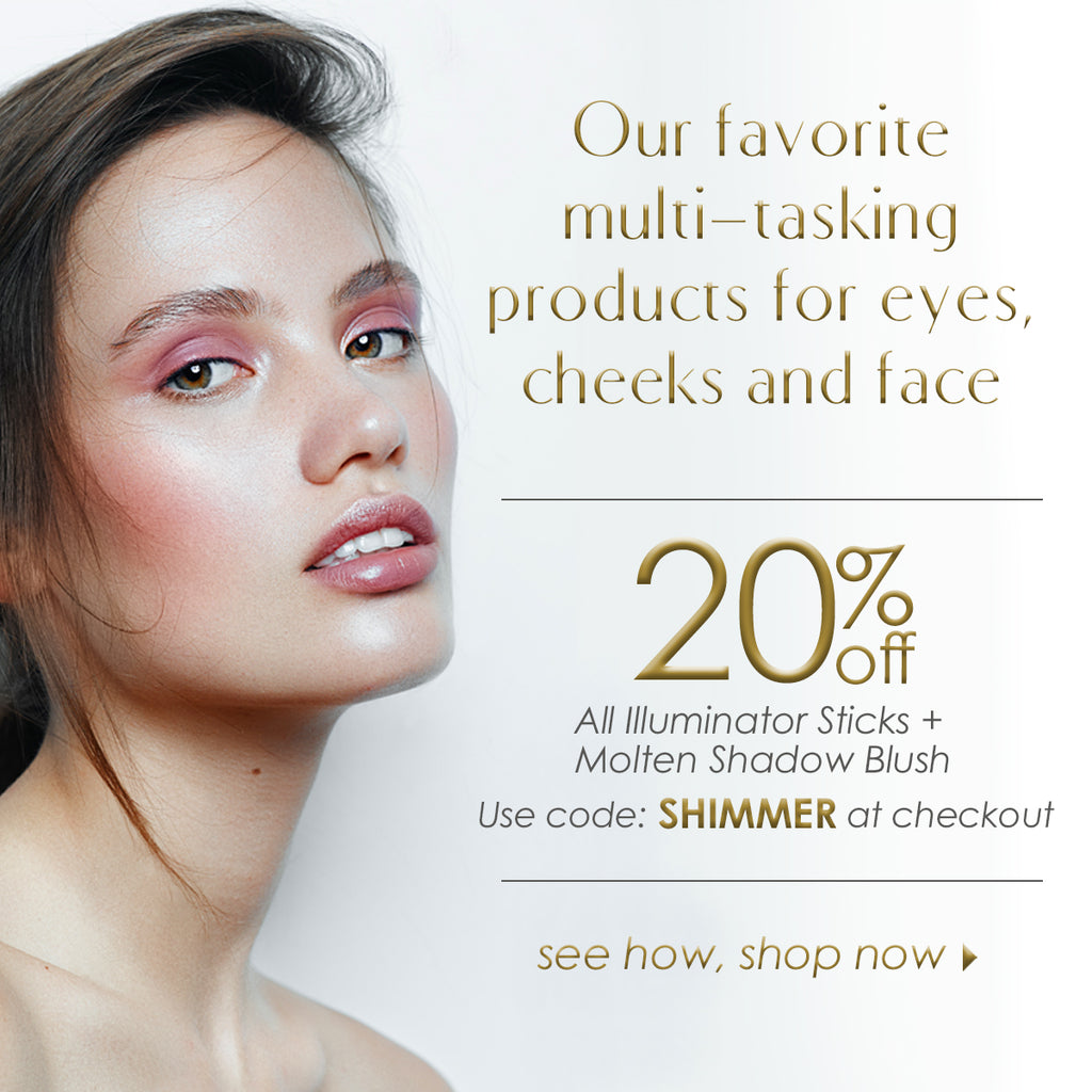 Multi tasking creamy eyeshadow, blush and highlighter 20% off
