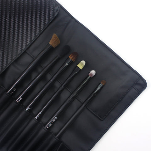 Ultimate Eye Brush Set With Pouch