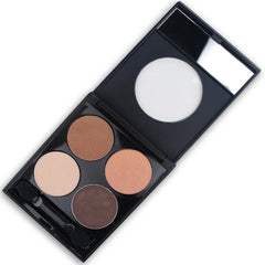 Talc Free Mineral Eye Shadow Palette - Naturally Neutral