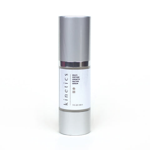 Multi-Peptide Growth Factor Serum | Kinetics Cosmetics
