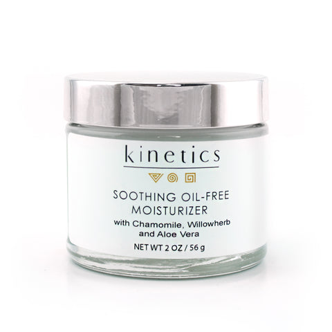 Soothing Oil Free Moisturizer | Kinetics Cosmetics