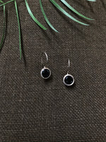 Black Onyx  Drop Earrings