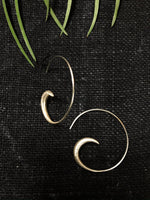 Half Loop Wire Earrings