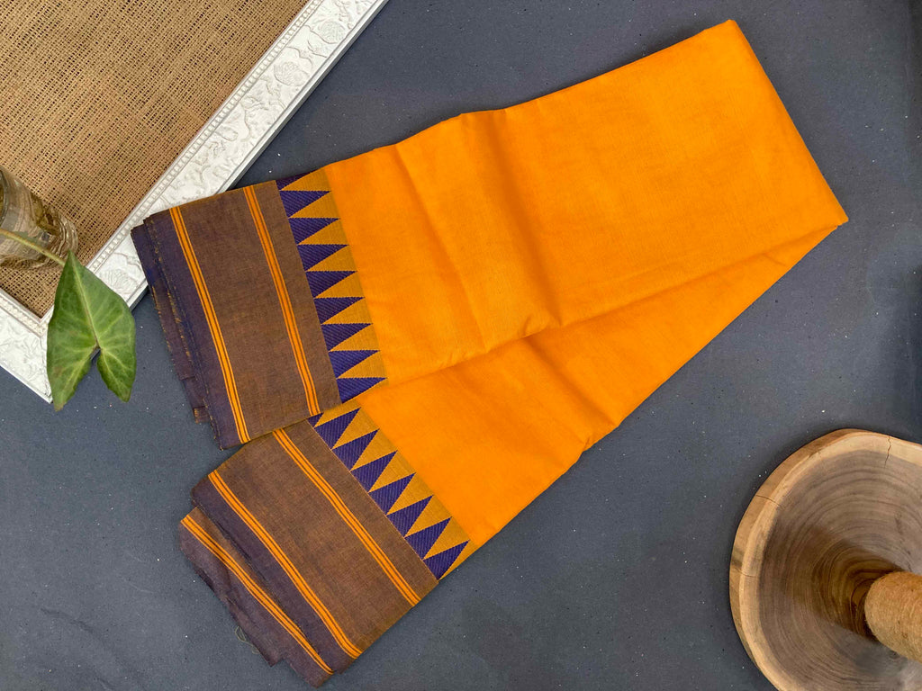 Blue Mango - Kanchi Cotton Saree
