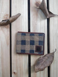 Camel Checkered Men's Wallet
