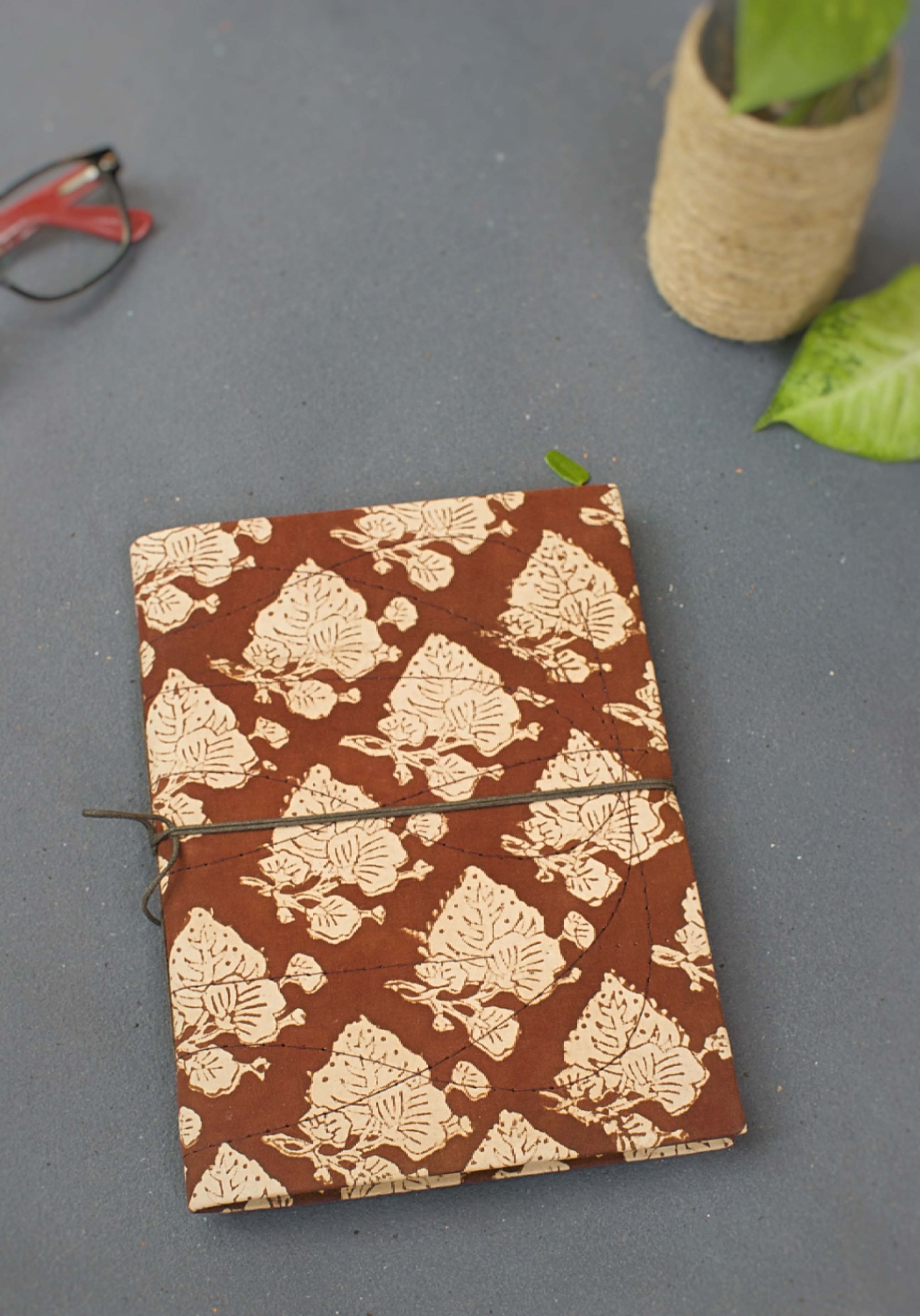 Coffee Motif Print Journal