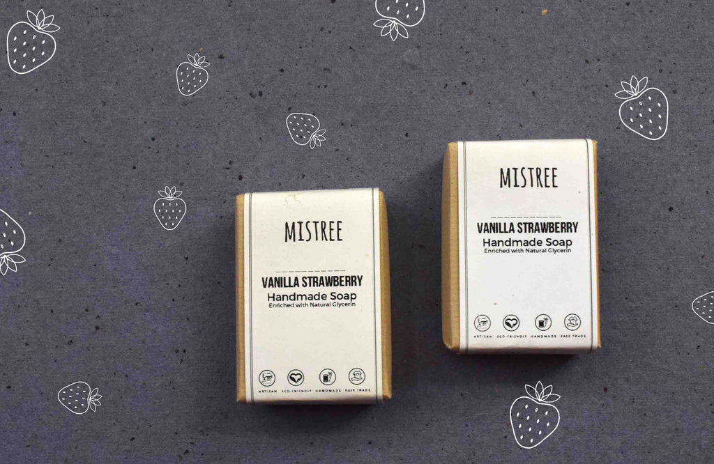 Mistree Handmade Soap - Vanilla Strawberry